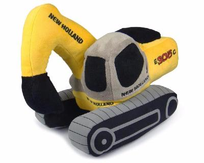 Peluche New Holland Excavator