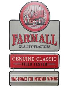 Plaque métallique 3 parties Farmall