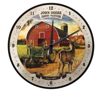 "Horloge ""Farming traditions"" John Deere"