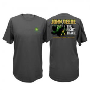 "Tee shirt ""the right track"" John Deere"