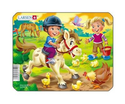 "Puzzle "" A cheval"""