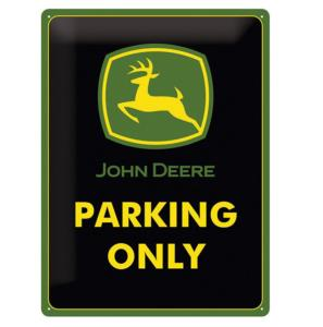 "Plaque John Deere ""Parking Only"""