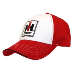 Casquette IH rouge et blanche