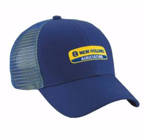Casquette filet bleue New Holland