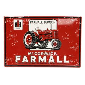 Plaque Farmall Super H