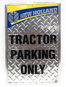 Plaque New Holland Parking Only
