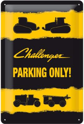 Plaque Challenger Parking Only