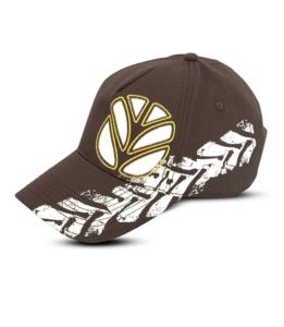 Casquette marron New Holland