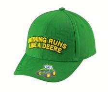 Casquette enfant John Deere Nothing Runs