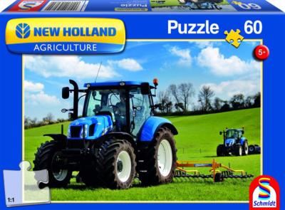 Puzzle tracteur New Holland T8