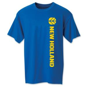 Tee shirt bleu New Holland