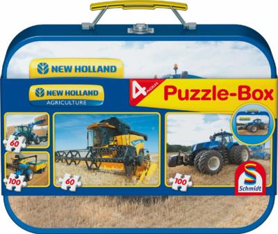 Lot de 4 puzzles New Holland