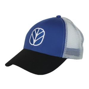 Casquette New Holland bleue avec mailles blanches