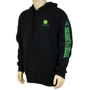 Sweat noir John Deere