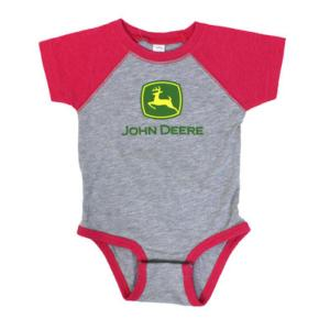 Body John Deere rose et gris