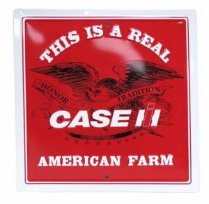 Plaque métallique Case Ih American Farm