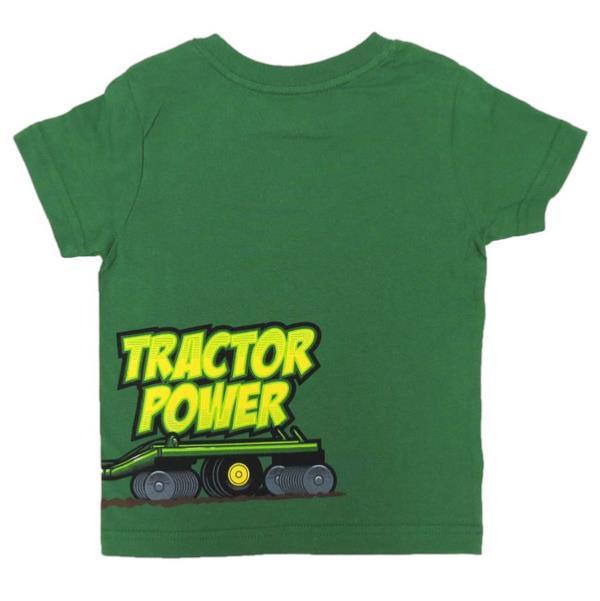 tee shirt tracteur power john deere pour enfant - Tracteur John Deere Enfant