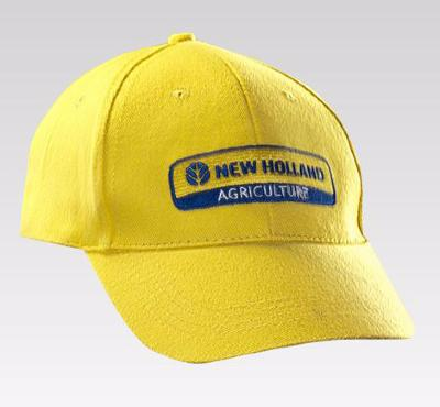 Casquette New Holland jaune
